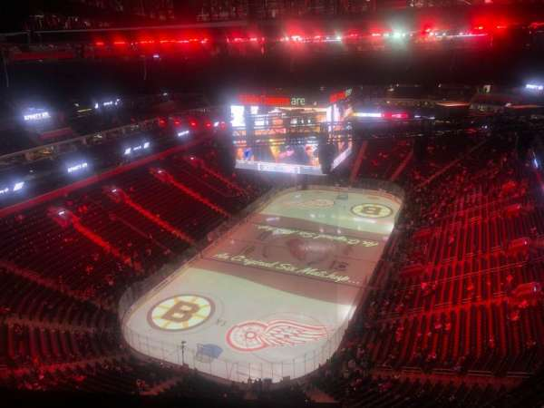 Little Caesars Arena, section: 301, row: 1, seat: 6