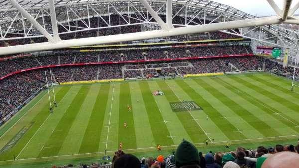 Aviva Stadium, section: 506, row: BB, seat: 13