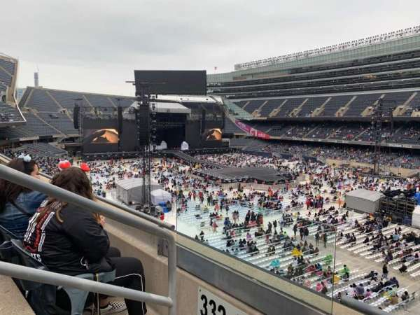 Soldier Field, section: 331, row: 2, seat: 2