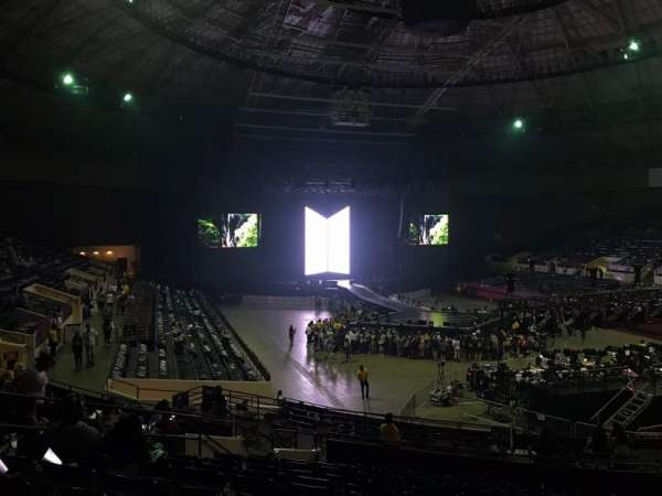 Fort Worth Convention Center, section: 312, row: M, seat: 10