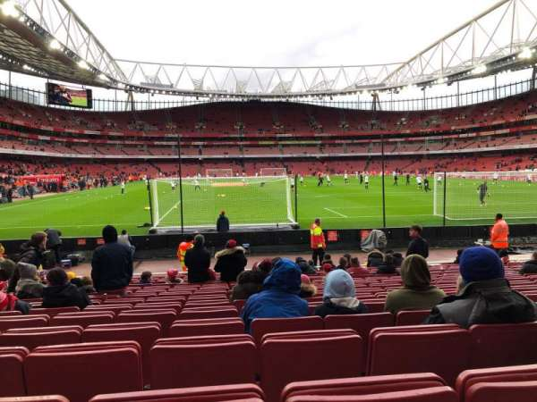 Emirates Stadium, section: 26, row: 15, seat: 795