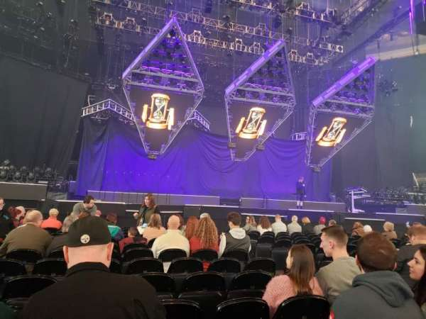 PPG Paints Arena, section: Floor 3, row: J, seat: 5