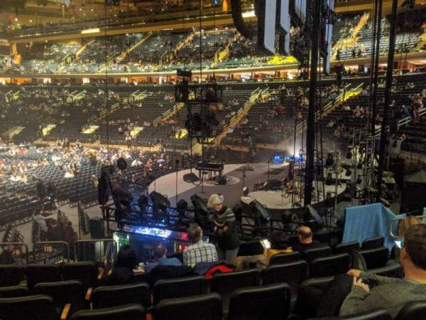 Madison Square Garden, section: 110, row: 11, seat: 10