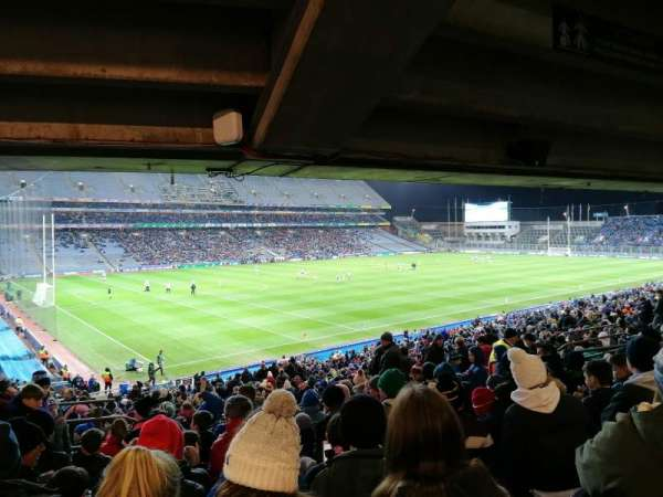 Croke Park, section: 312, row: UU, seat: 12