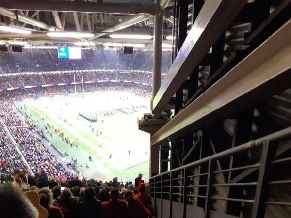 Principality Stadium, section: U2, row: 33, seat: 9