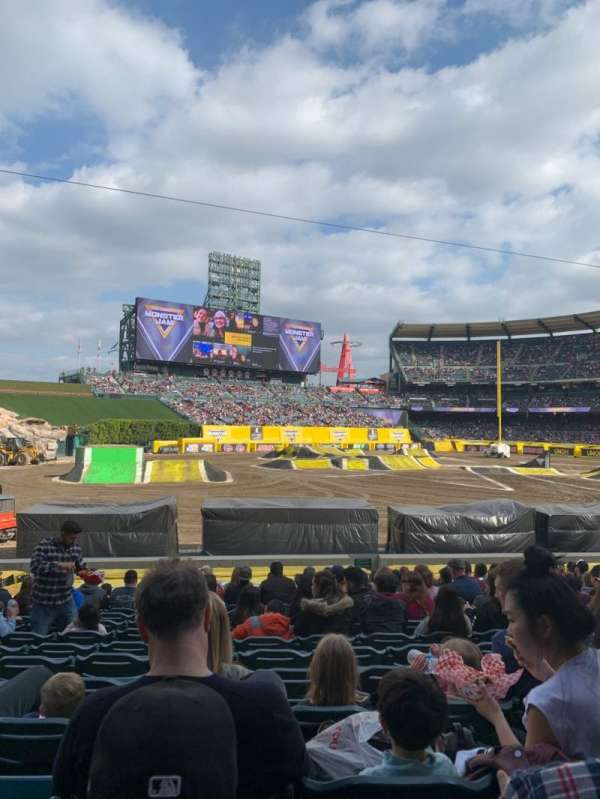 Angel Stadium, section: F105, row: Z, seat: 9