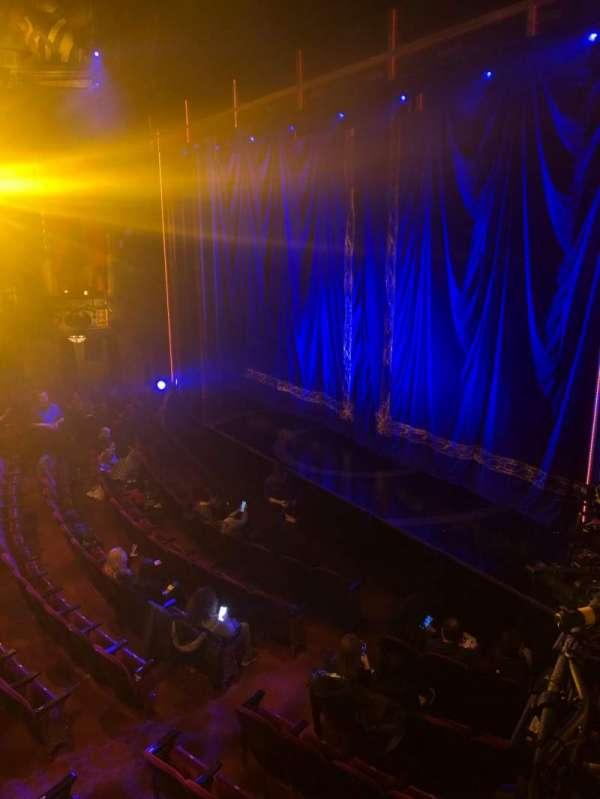 Brooks Atkinson Theatre, section: Right Box C, seat: 1