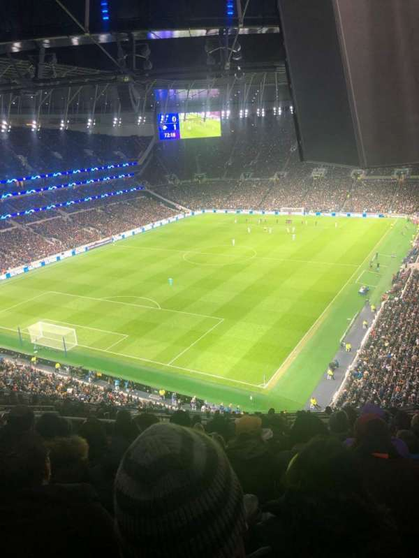Tottenham Hotspur Stadium, section: 511, row: 18