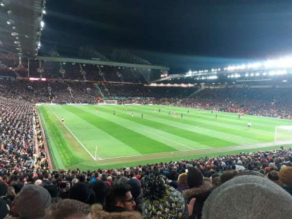Old Trafford, section: W202, row: 12, seat: 276