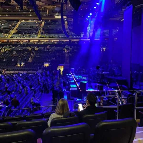 Madison Square Garden, section: 108, row: D, seat: 20
