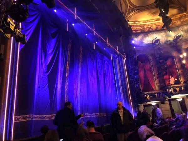 Brooks Atkinson Theatre, section: Orchestra L, row: E, seat: 15