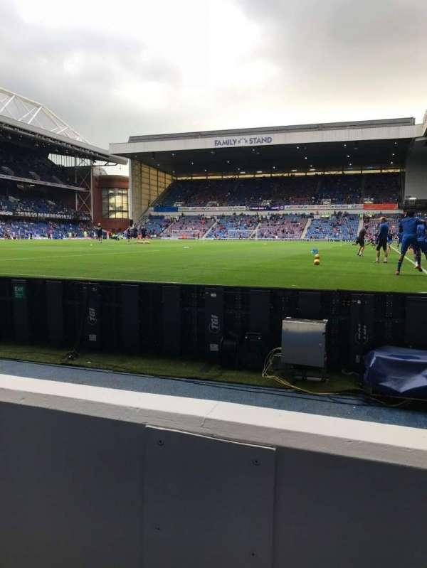 Ibrox Stadium, section: CF1, row: B, seat: 115