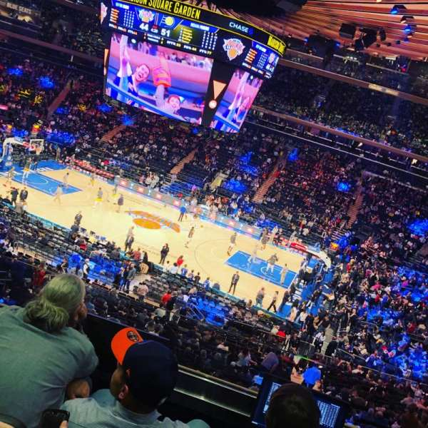 Madison Square Garden, section: 225, row: 4, seat: 22
