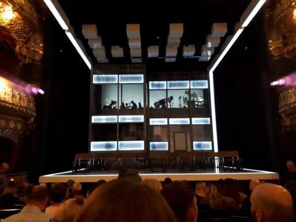 Apollo Theatre, section: Stalls, row: M, seat: 12