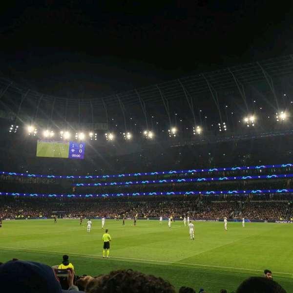Tottenham Hotspur Stadium, section: 102, row: 11, seat: 41