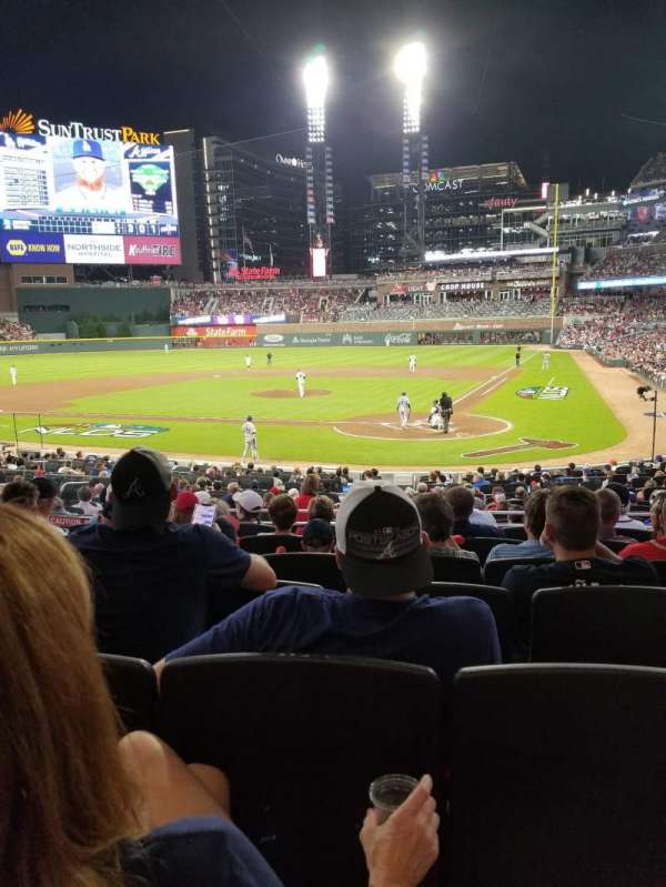 Truist Park, section: 127, row: 7, seat: 9