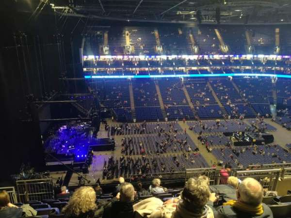 The O2 Arena, section: 401, row: L, seat: 476