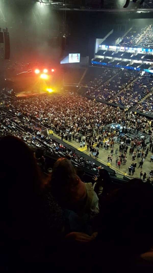 the o2 arena, section: 407, row: E, seat: 596