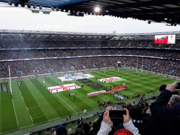 Twickenham Stadium, section: U11, row: L, seat: 291