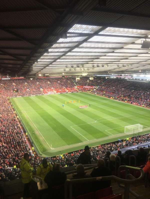 Old Trafford, section: NW3434, row: 25, seat: 16