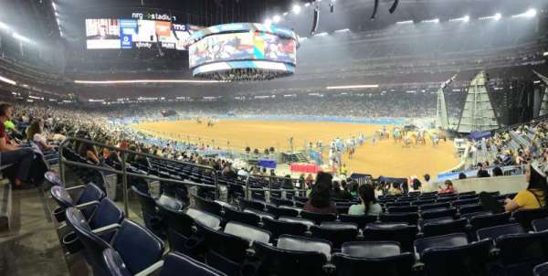 NRG Stadium, section: 101, row: S, seat: 11