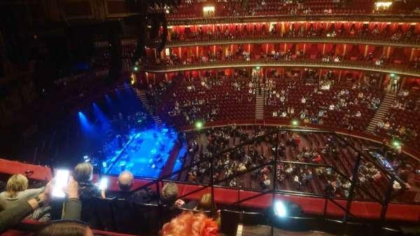 Royal Albert Hall, section: Circle Q, row: 4, seat: 29
