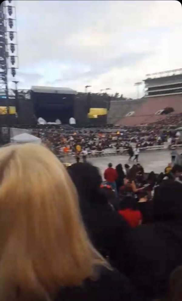 Rose Bowl, section: 9-H, row: 11, seat: 107