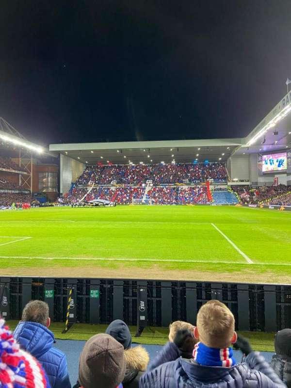 Ibrox Stadium, section: CF2, row: D, seat: 46