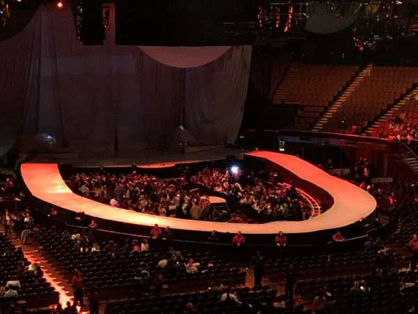 The Forum, section: 233, row: 5, seat: 11