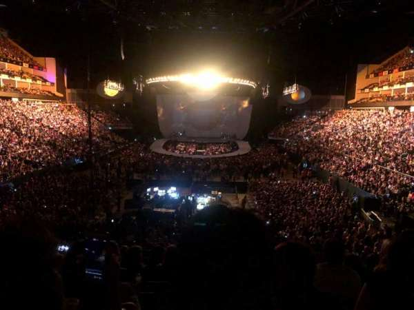 The O2 Arena, section: 107, row: Y