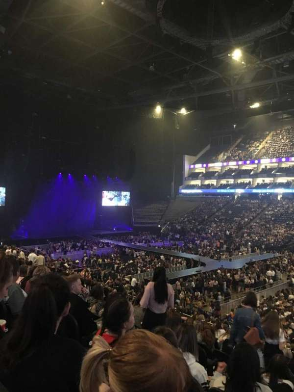 The O2 Arena, section: 103, row: X, seat: 113