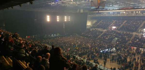 Sheffield Arena, section: 207, row: S, seat: 12