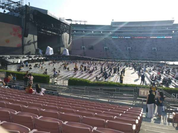 Rose Bowl, section: 4-h, row: 11, seat: 21