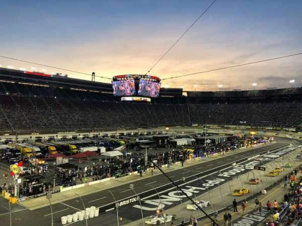 Bristol Motor Speedway, section: Waltrip C, row: 19, seat: 20