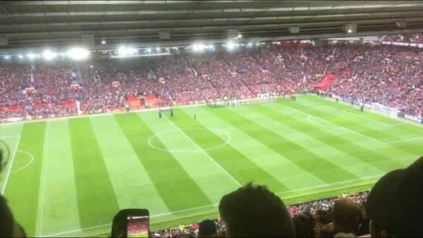 Old Trafford, section: N3403, row: 30, seat: 173