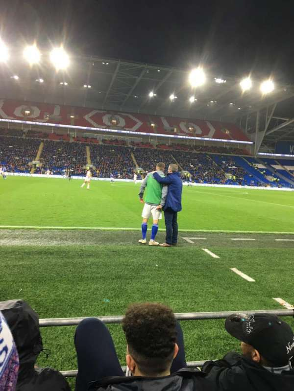 Cardiff City Stadium, section: 205, row: C, seat: 337
