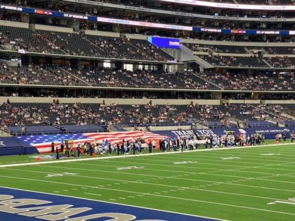 AT&T Stadium, section: 145, row: 16, seat: 10