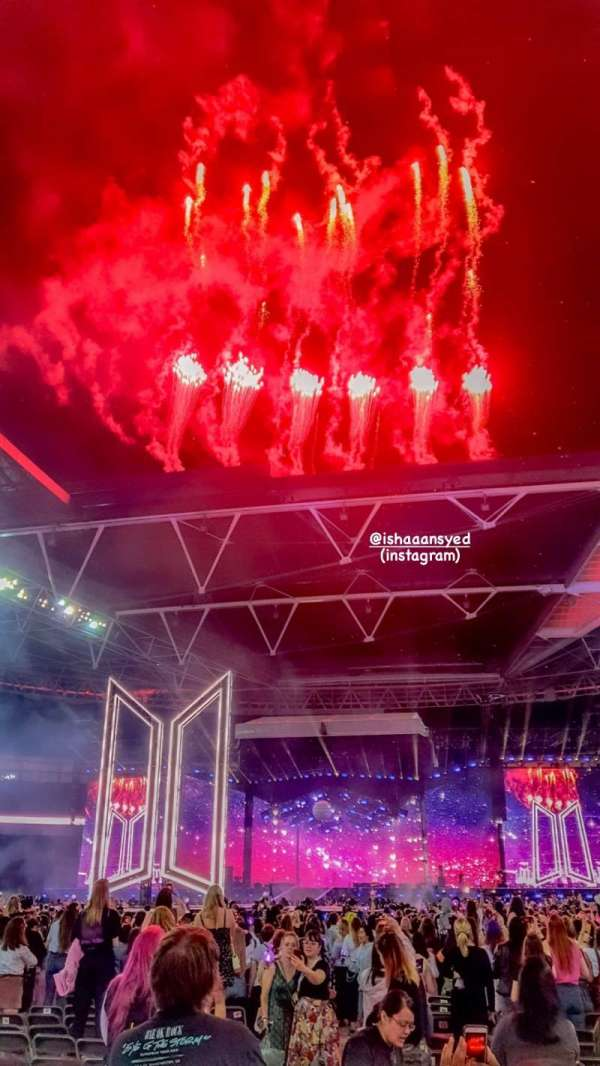 Wembley Stadium, section: D2, row: A, seat: 21