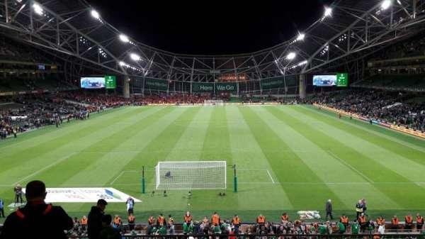 Aviva Stadium, section: 316, row: L