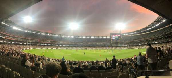 Melbourne Cricket Ground, section: M52, row: BB, seat: 5