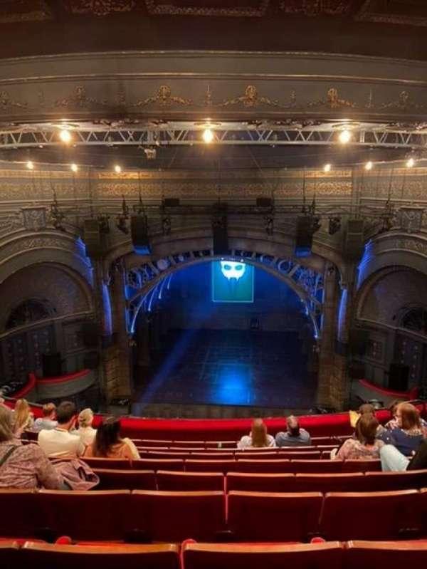 Princess Theatre (Melbourne), section: Grand Circle, row: J, seat: 25