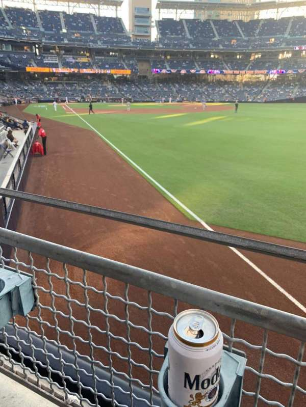 PETCO Park, section: 123, row: 22, seat: 18