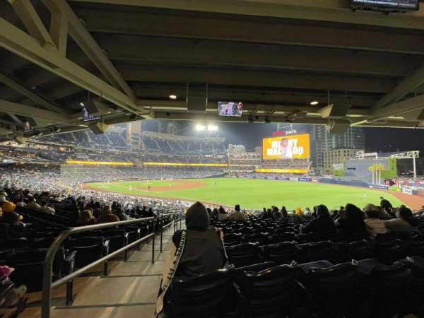 PETCO Park, section: 121, row: 41, seat: 1