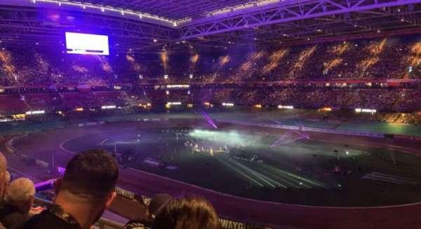 Principality Stadium, section: U5, row: 3, seat: 21