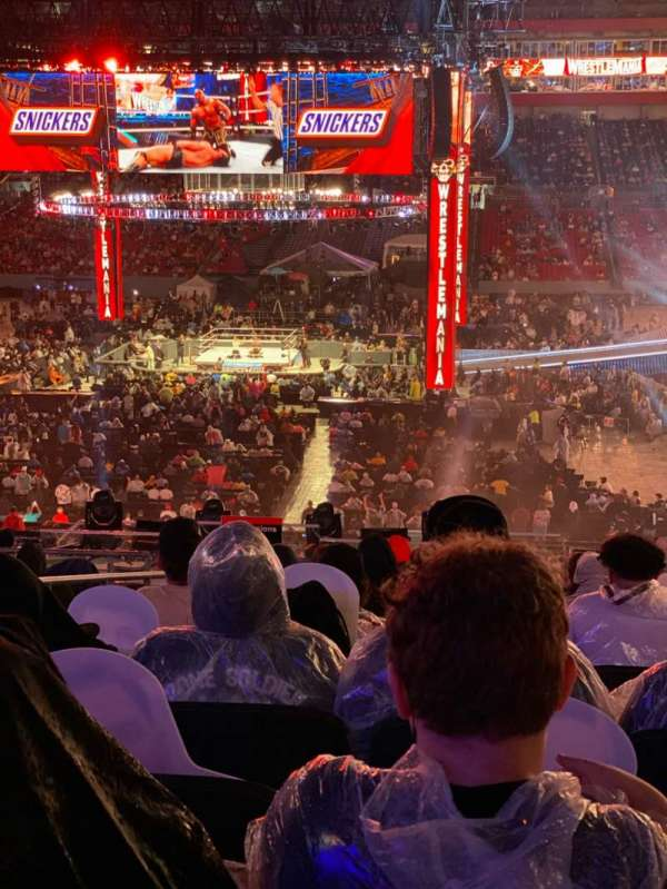 Raymond James Stadium, section: 237, row: T, seat: 3