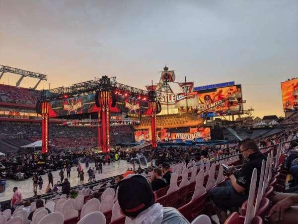 Raymond James Stadium, section: 131, row: R, seat: 8