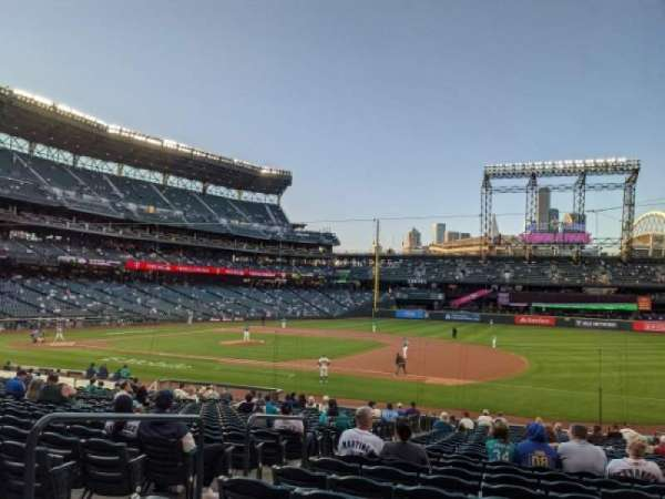 T-Mobile Park, section: 119, row: 27, seat: 17