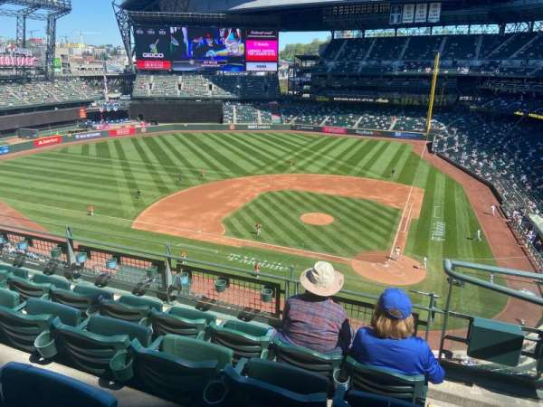 T-Mobile Park, section: 334, row: 4, seat: 1