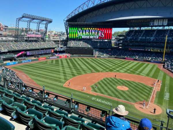 T-Mobile Park, section: 334, row: 4, seat: 2