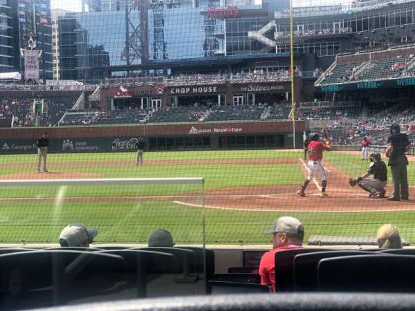 Truist Park, section: 28, row: 7, seat: 8